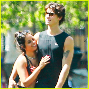 Shawn Mendes & Camila Cabello Look So In Love on Sunny Afternoon Stroll!