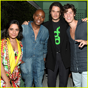 John Mayer Celebrates His New Album With Shawn Mendes, Camila Cabello & More