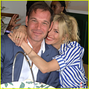 Sienna Miller Brings Her Longtime Pal Archie Keswick to Star-Studded Day at Wimbledon!
