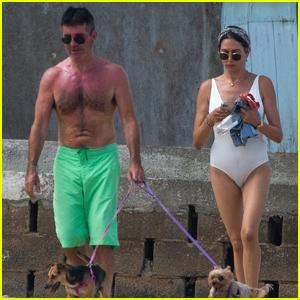 Simon Cowell & Family Enjoy a Summer Getaway in Barbados
