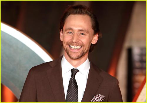 Tom Hiddleston at the Loki premiere