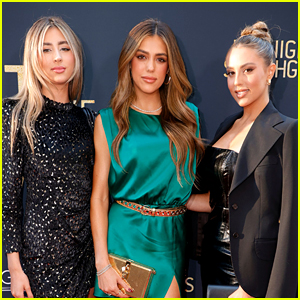 Sistine Stallone Gets Support from Her Sisters at 'Midnight in the Switchgrass' Premiere!