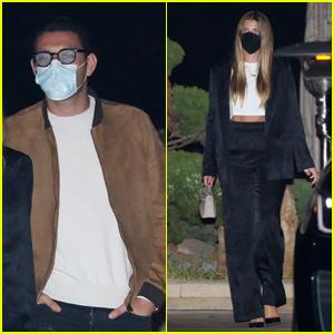 Sofia Richie & Boyfriend Elliot Grainge Grab Dinner Together in Malibu