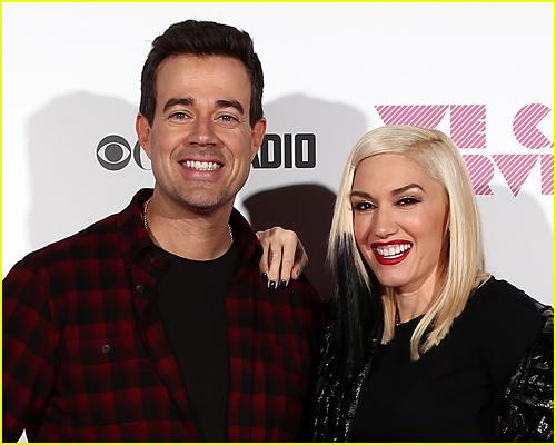 Gwen Stefani and Carson Daly photo