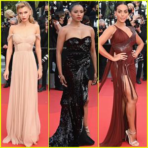 Stella Maxwell, Kat Graham, & Georgina Rodriguez Bring the Glamour to Cannes Film Festival 2021