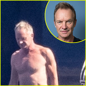 Sting Shows Off Fit Body in a Speedo Ahead of 70th Birthday!