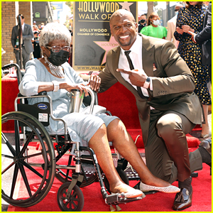 Terry Crews Brings His Grandmother To Hollywood Walk of Fame Star Ceremony