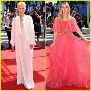 Tilda Swinton Attends Her 'Memoria' Cannes Premiere with Daughter Honor Swinton Byrne!