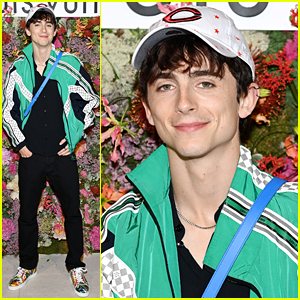 Timothee Chalamet Went Graphic With His Fashion For Louis Vuitton Dinner in Cannes