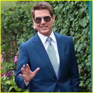 Tom Cruise Joins 'Mission: Impossible 7' Crew for Wimbledon 2021 Finals!