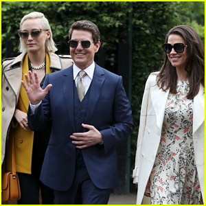 Tom Cruise Attends Wimbledon with His 'Mission: Impossible' Co-Stars!