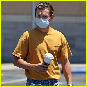 Tom Holland Spotted Running Errands After Arriving Home from a Getaway with Zendaya