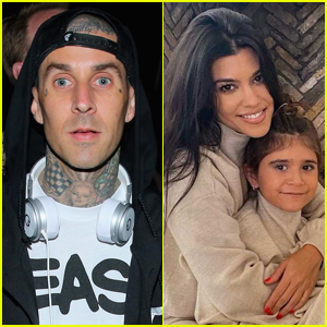 Travis Barker Gave Kourtney Kardashian's Daughter Penelope a Super Cool Birthday Gift!