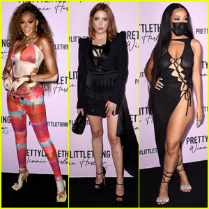 Winnie Harlow Celebrates the Launch of Her PrettyLittleThing Collection with Star-Studded Party!