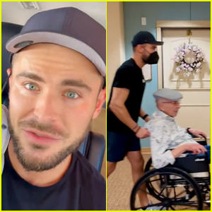 Zac & Dylan Efron Bust Their Grandpa Out of His Senior Living Facility in New Instagram Video!
