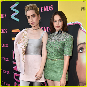 Zoe Lister-Jones & Cailee Spaeny Team Up for 'How it Ends' L.A. Premiere!