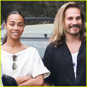 Zoe Saldana & Marco Perego Spend the Day Together in Italy