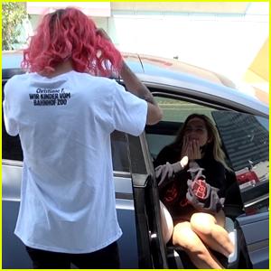 Addison Rae Spotted Kissing Rumored New Boyfriend Omer Fedi (Photos)