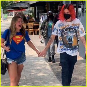 Addison Rae & Boyfriend Omer Fedi Hold Hands on Lunch Date in WeHo