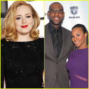 Adele Dances to 'WAP' While Celebrating LeBron James' Wife Savannah's Birthday!
