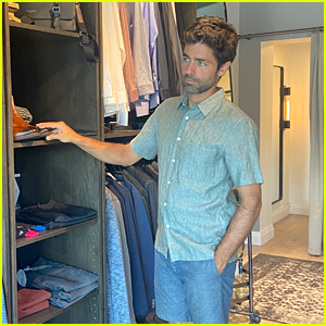 Adrian Grenier Goes Shopping in Austin for His 'Clickbait' Press Days