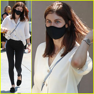 Here's What Alexandra Daddario Was Up to on 'The White Lotus' Finale Day!