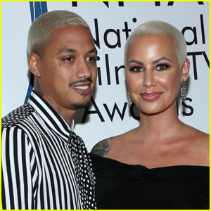 Amber Rose Accuses Boyfriend Alexander 'AE' Edwards of Cheating on Her With 12 Women