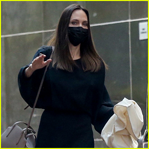 Angelina Jolie Spotted in L.A. After Making Instagram History