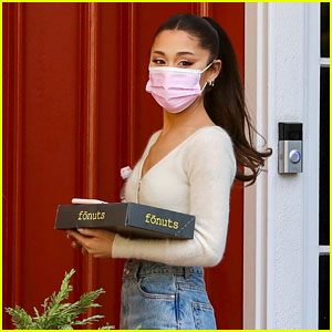 Ariana Grande Brings Donuts for Her Friday Voice Lesson - New Photos!
