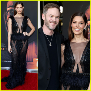Ashley Greene & Shawn Ashmore Pose Together at 'Aftermath' Premiere