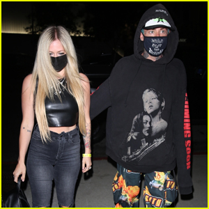 Mod Sun Wears 'Titanic'-Themed Hoodie to Dinner with Avril Lavigne