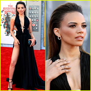Batgirl's Leslie Grace Joins Her New DC Family at 'The Suicide Squad' Premiere