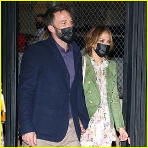 Ben Affleck & Jennifer Lopez Take Their Kids to See 'Hamilton' Together! (Photos)