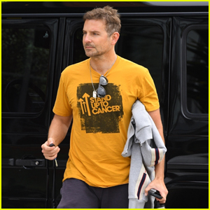 Bradley Cooper Arrives at a Business Meeting in Santa Monica