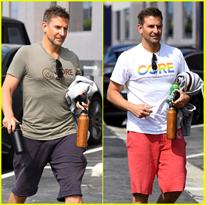 Bradley Cooper Spotted Keeping Up with His Workouts in L.A. - See Photos!