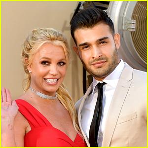 Britney Spears Praises 'Cute A--hole' Boyfriend Sam Asghari & Jokes About Starring in a Tinker Bell Movie