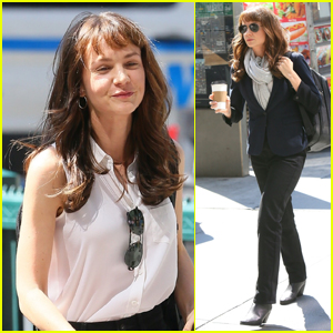 Carey Mulligan Gets to Work Filming New Movie 'She Said' in NYC