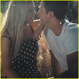 Cassie Randolph Stars In Boyfriend Brighton Reinhardt's 'Dreaming' Music Video
