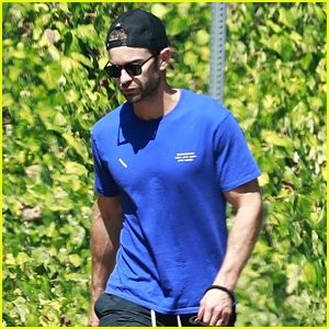 Chace Crawford Spotted On a Weekend Walk with His Cute Dog!