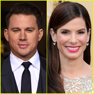 Channing Tatum Jumped Into a Pool Holding Sandra Bullock as a Prank to Celebrate End of 'Lost City of D'