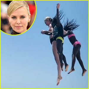 Charlize Theron Shares Rare Video of Her & Her Two Daughters!