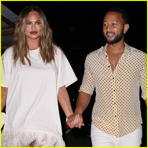 Chrissy Teigen & John Legend Step Out for a Romantic Dinner Date in NYC