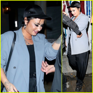 Demi Lovato Heads Out After a Dinner at Craig's
