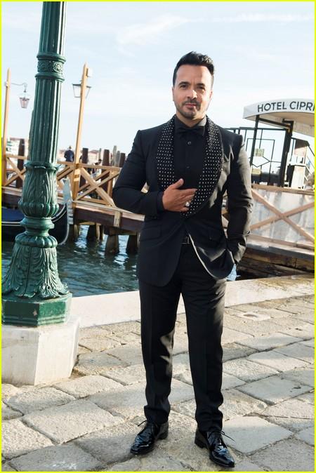 Luis Fonsi at the Dolce and Gabbana Alta Moda Show