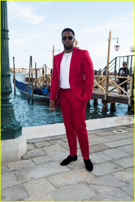 Sean Combs at the Dolce and Gabbana Alta Moda Show