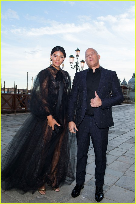 Vin Diesel at the Dolce and Gabbana Alta Moda Show