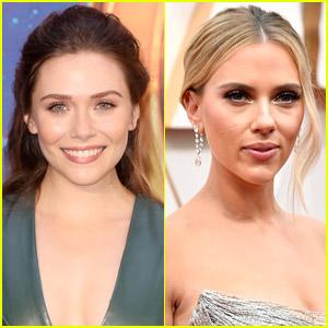 Elizabeth Olsen Comments on Fellow Marvel Star Scarlett Johansson's Legal Battle with Disney Over 'Black Widow'
