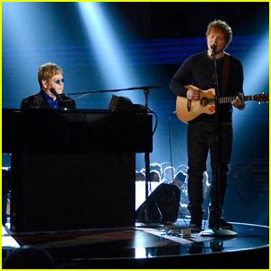 Ed Sheeran Bought Elton John a Giant Marble Penis