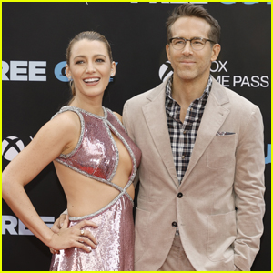Blake Lively & Ryan Reynolds Have Fun on the Red Carpet Together at 'Free Guy' Premiere in NYC