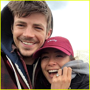 Grant Gustin & Wife LA Thoma Welcome First Child - Find Out Her Name!
